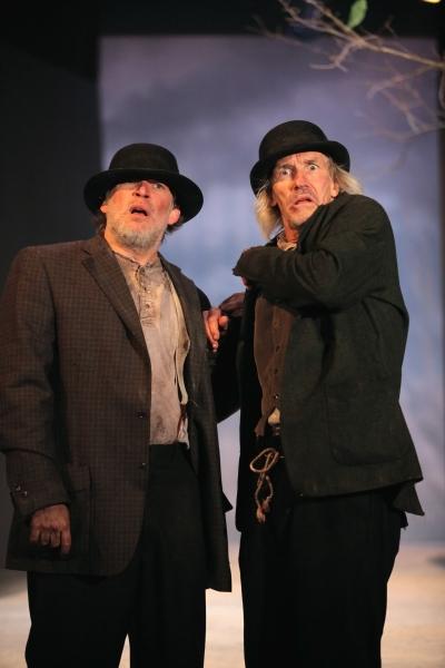 Nicholas Rose as Vladimir and Bruce Cromer as Estragon