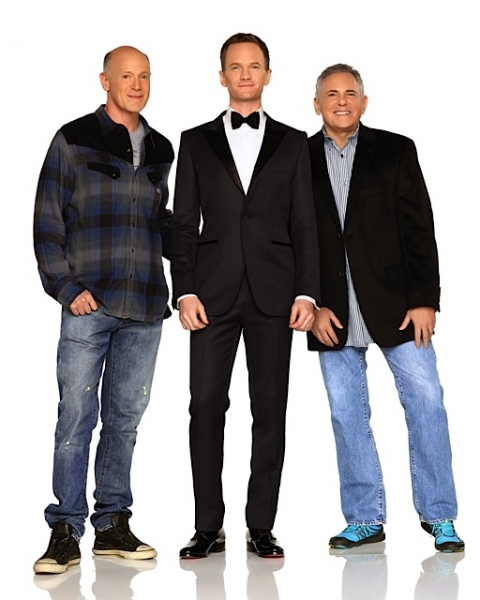 Craig Zadan and Neil Meron with Neil Patrick Harris