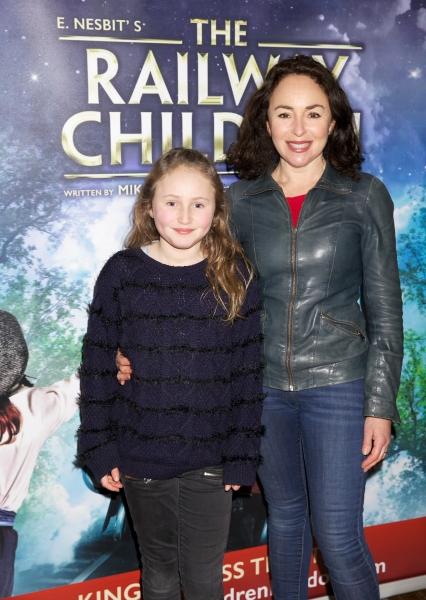 Daughter and Samantha Spiro