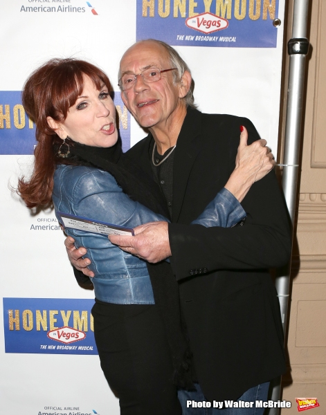 Marilu Henner and Christopher Lloyd