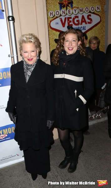 Bette Midler and daughter Sophie von Haselberg