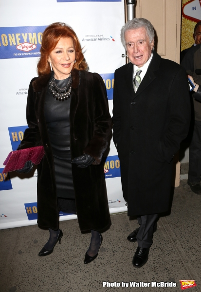 Joy Philbin and Regis Philbin