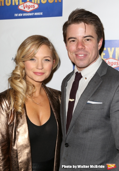 Vanessa Ray and David Hull