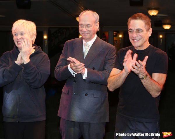 Nancy Opel, Andrew Bergman and Tony Danza