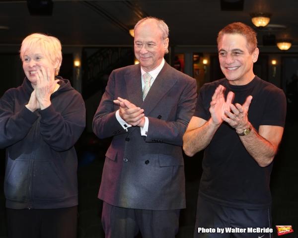 Nancy Opel, Andrew Bergman and Tony Danza
