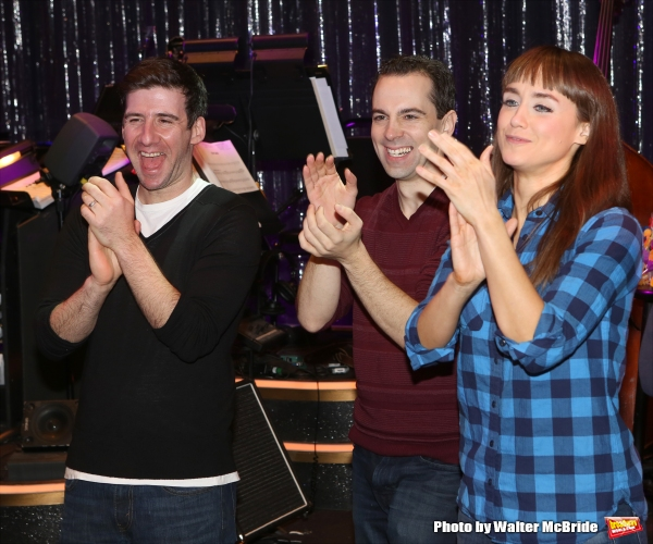 David Josefsberg, Rob McClure and Brynn O''Malley