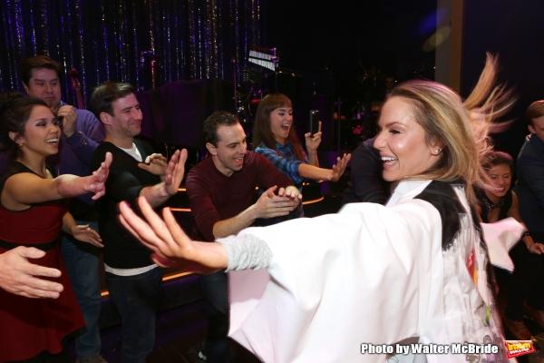 Katie Webber with David Josefsberg, Rob McClure, Brynn O'Malley