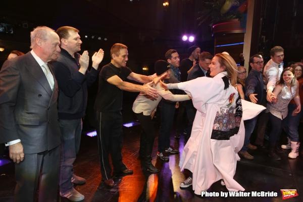 Andrew Bergman, Tony Danza with Katie Webber