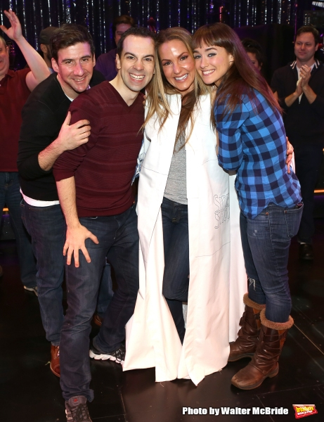 David Josefsberg, Rob McClure, Katie Webber and Brynn O''Malley
