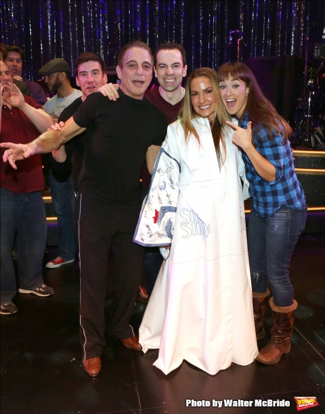 David Josefsberg, Tony Danza, Katie Webber, Rob McClure and Brynn O''Malley