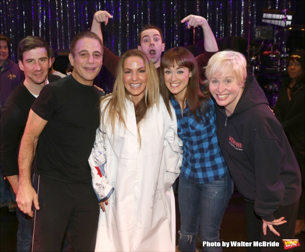 David Josefsberg, Tony Danza, Katie Webber, Rob McClure, Brynn O'Malley and Nancy Opel