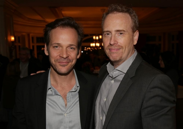 "Peter Sarsgaard, ""The Slap""; Robert Greenblatt; Chairman, NBC Entertainment"