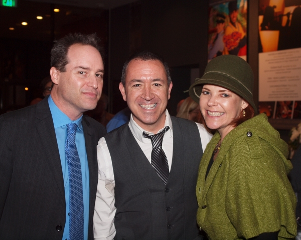 Director Brian Kite, Steven Glaudini, and Bets Malone