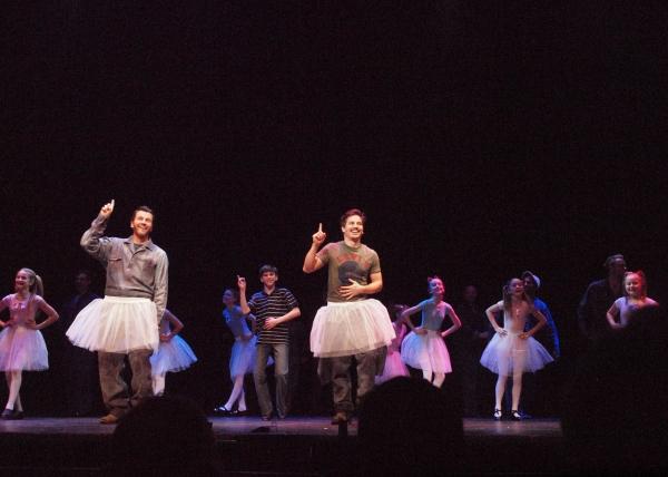 David Atkinson, Mitchell Tobin, Stephen Weston, and Ballet Girls