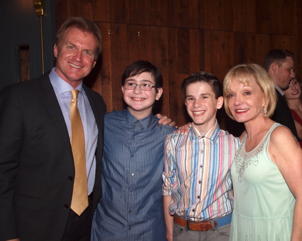 Tom McCoy, Jake Kitchin, Mitchell Tobin, and Cathy Rigby