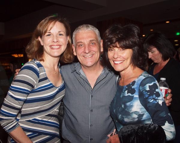 Kim Huber, Glenn Casale, and Adrienne Barbeau