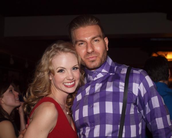 Rachel Davis and Karl Warden