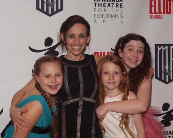 Brooklyn Vizcarra, Choreographer Dana Solimando, Emilie LaFontaine, and Benni Ruby