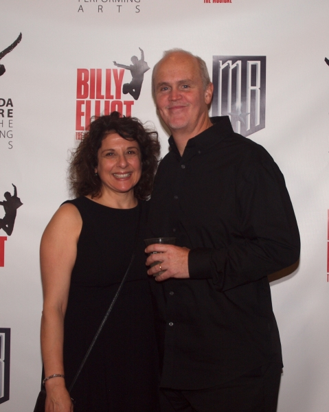 Maria Cominis-Glaudini and Musical Director John Glaudini