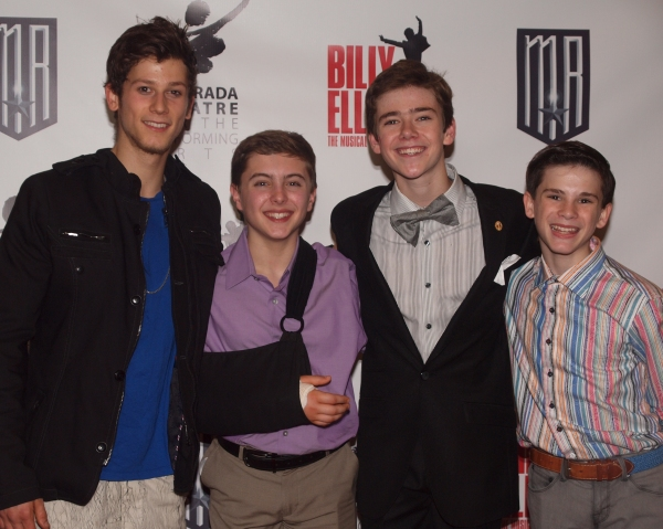 Brandon Forrest, Mitchell Tobin, R.J. Higton, and MItchell Tobin