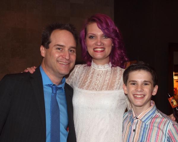 Brian Kite, Hair/Wig Desgner Katie McCoy, and Mitchell Tobin