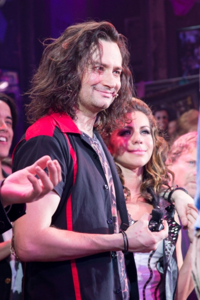 Photos: Rockers Unite! ROCK OF AGES Casts of Past and Present Return for Final Broadway Bows!