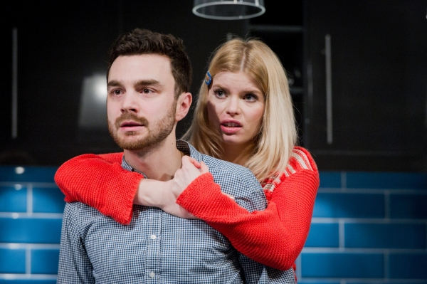 Photo flash first look at bad jews at the st james theatre