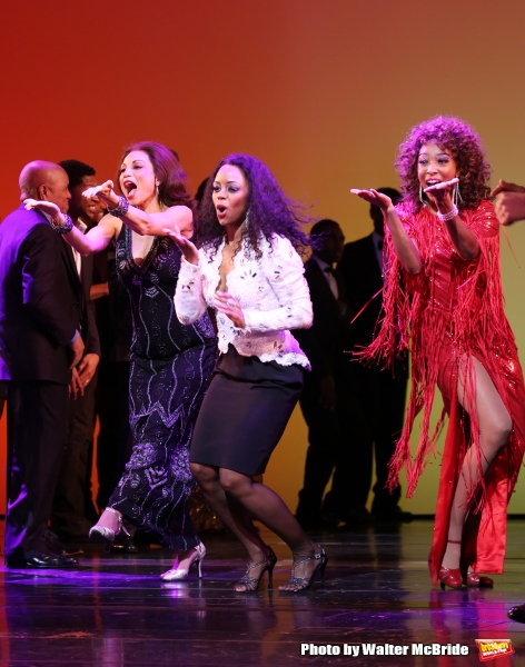 Photo Coverage: Bye Bye Baby- MOTOWN  Cast Takes Final Broadway Bow!