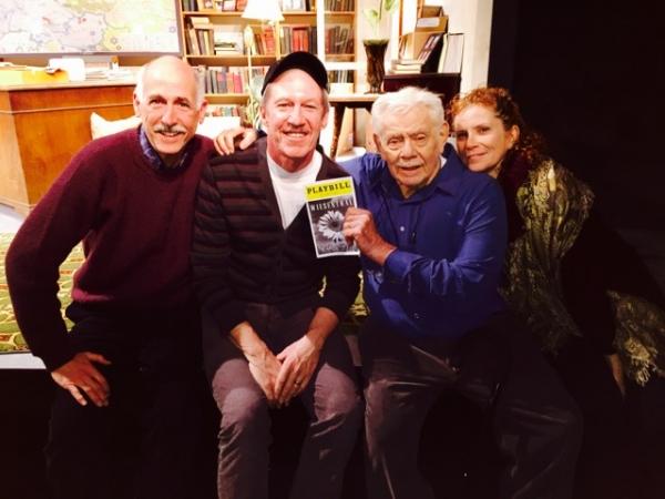 Mitch Greenberg, Tom Dugan, Jerry Stiller & Daughter Photo
