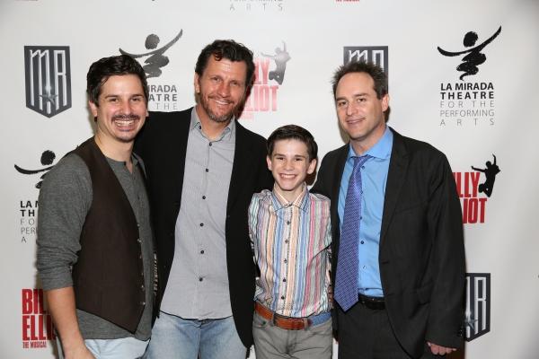 Cast members Stephen Weston, David Atkinson, Michael Tobin and Director Brian Kite