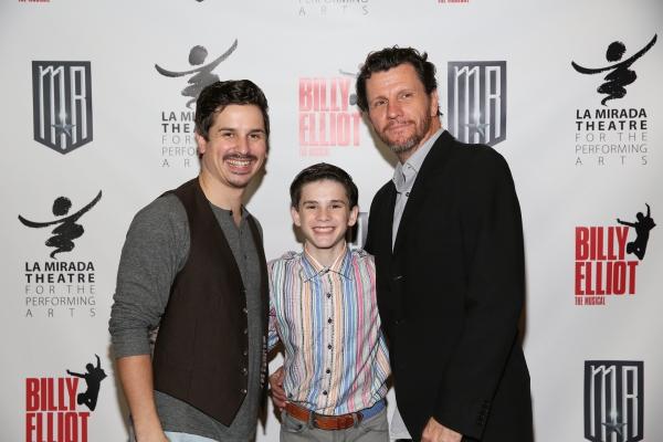 Cast members Stephen Weston, Michael Tobin and David Atkinson