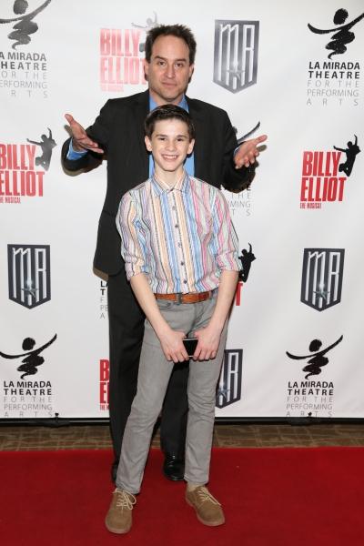 Director Brian Kite and cast member Michael Tobin