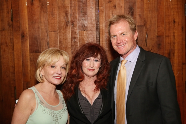 Executive Producer Cathy Rigby, cast member Vicki Lewis and Executive Producer Tom McCoy