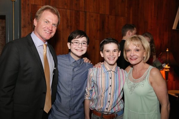 Executive Producer Tom McCoy, cast members Jake Kitchin and Michael Tobin and Executive Producer Cathy Rigby