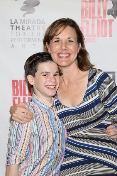 Cast members Michael Tobin and Kim Huber