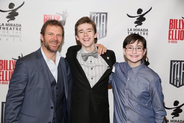 Cast members John B. Williford, R.J. Higton and Jake Kitchin