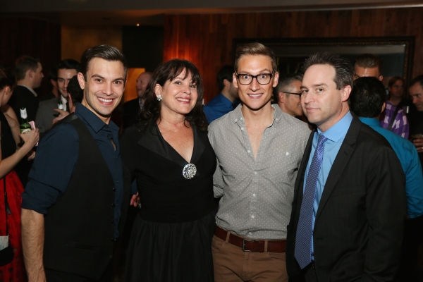 Cast members Justin Michael Wilcox, Marsha Waterbury, Brian Steven Shaw and Director Brian Kite