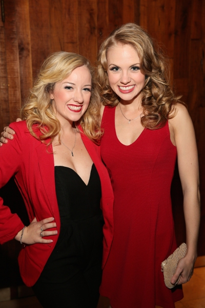 Cast members Hanna Jean Simmons and Rachel Davis