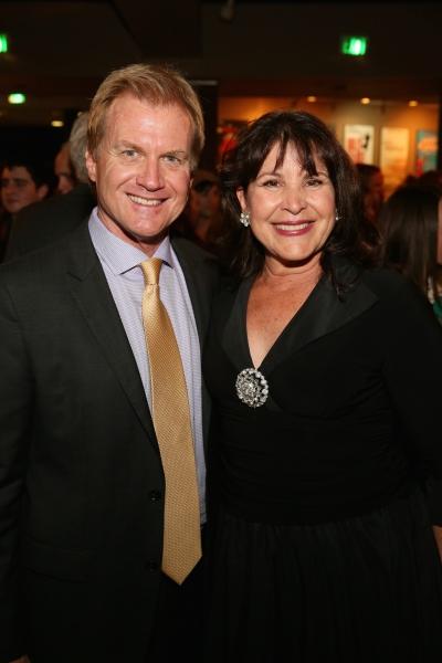 Executive Producer Tom McCoy and cast member Marsha Waterbury Photo