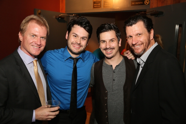 Executive Producer Tom McCoy and cast members John B. Williford, Stephen Weston and D Photo