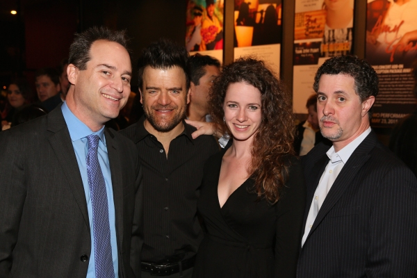 Director Brian Kite, actor Kevin Weisman, A.J. Edmonds and Jeff Maynard