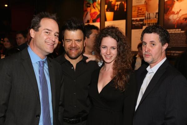 Director Brian Kite, actor Kevin Weisman, A.J. Edmonds and Jeff Maynard