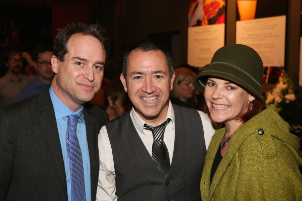 Director Brian Kite, Steve Glaudini and actress Bets Malone