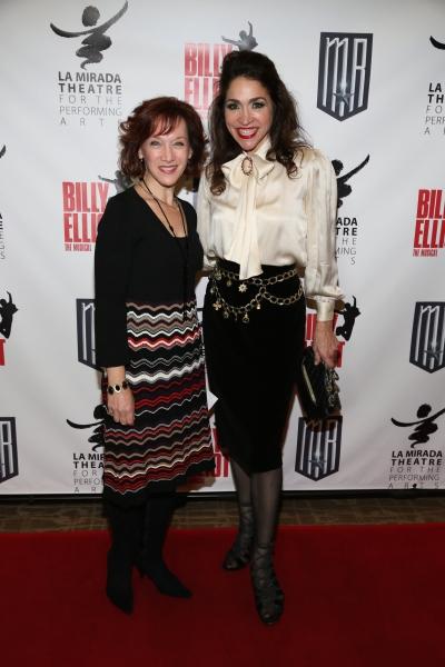 Actresses Victoria Hoffman and Stasha Surdyke