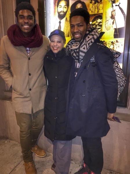 Rodney Earl Jackson, Melanie Evans, Galen Williams Photo
