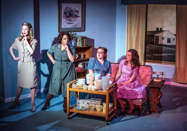 Cassie Thompson, Sasha Smith, Elise Mayfield and Lizzie Schwarzrock Photo