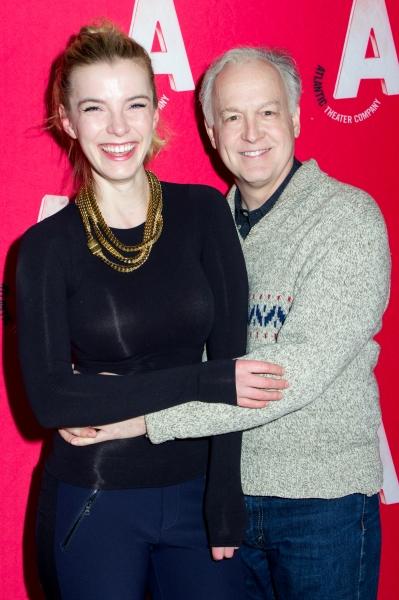 Betty Gilpin, Reed Birney Photo