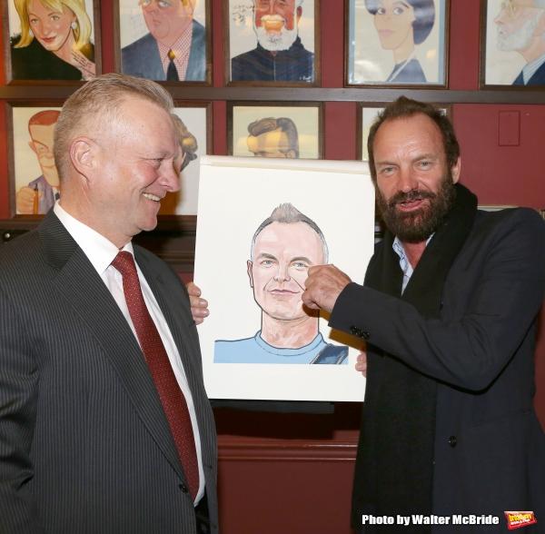 Max Klimavicius and Sting