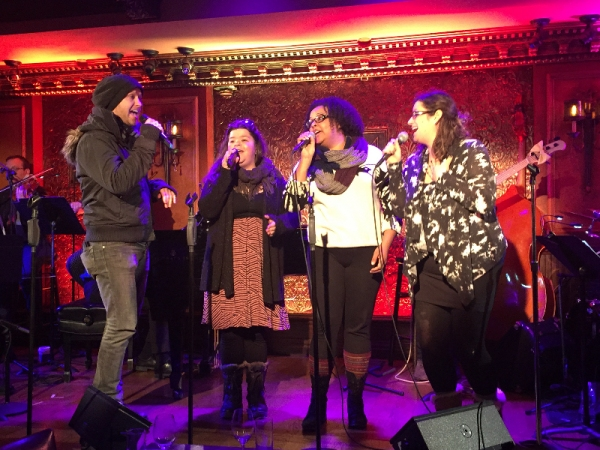 Marty Thomas, Marissa Rosen, Christina Cataldo, Gilyana Castillo