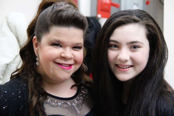 Photo Flash: Backstage with Eden Espinosa, Ashley Brown, Lilla Crawford & More at Scott Alan's 54 Below Debut
